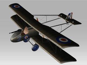 aircraft raf 3d model