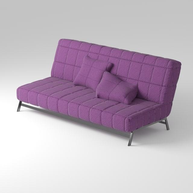 karlabi killeberg ikea sofa 3d model