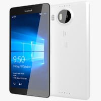 3d realistic microsoft lumia 950