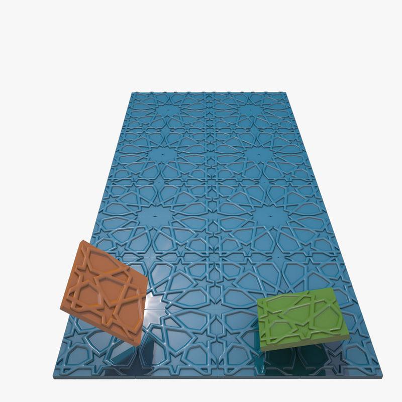 kuntekari wall tile 3d max