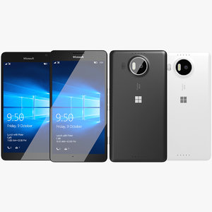 3d max realistic microsoft lumia 950