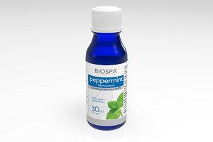 peppermint essential oil 3d c4d