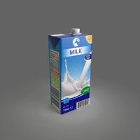 3d milk package