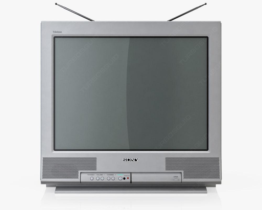 Television 3d Models For Download Turbosquid # Modele Porte Tele