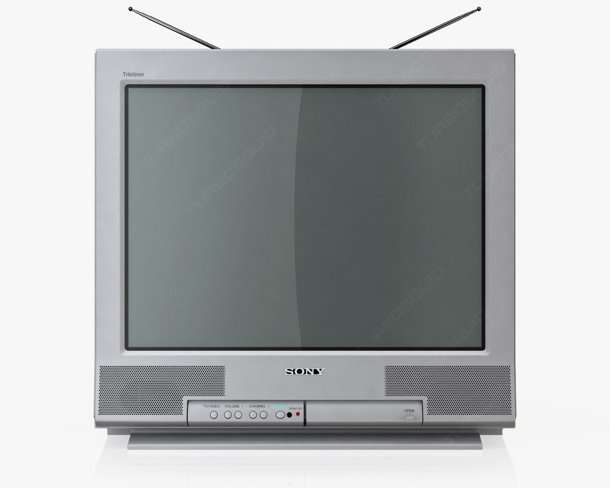 3d Old Tv Sony Trinitron