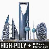 3d buildings aldar bahrain