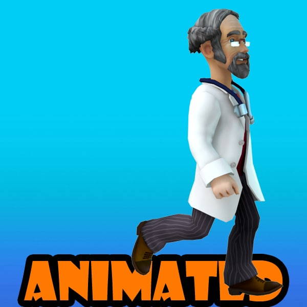 3d doctor animation