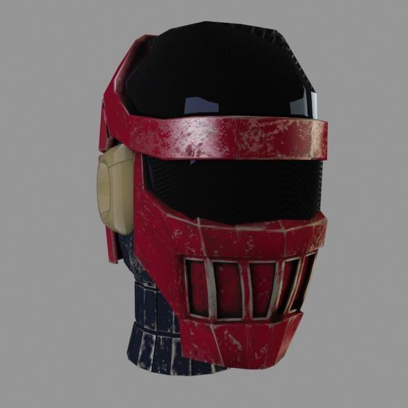 3ds max robo head