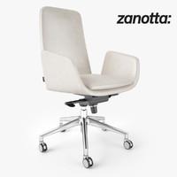 zanotta lady chair 3d max