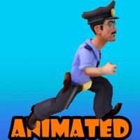 policeman animated