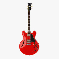 Gibson ES-335 Semi-Hollowbody Guitar Red