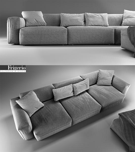 3dsmax pouf sofa