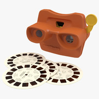 Stereoscope View Master Set