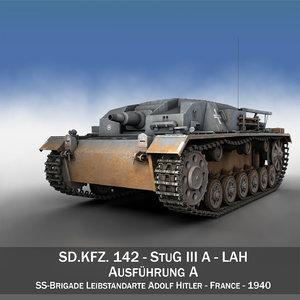 c4d - stug lah iii