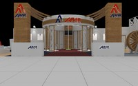 (4) Exhibition Stand 11x19