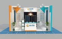 (2) Exhibition Stand 4x5