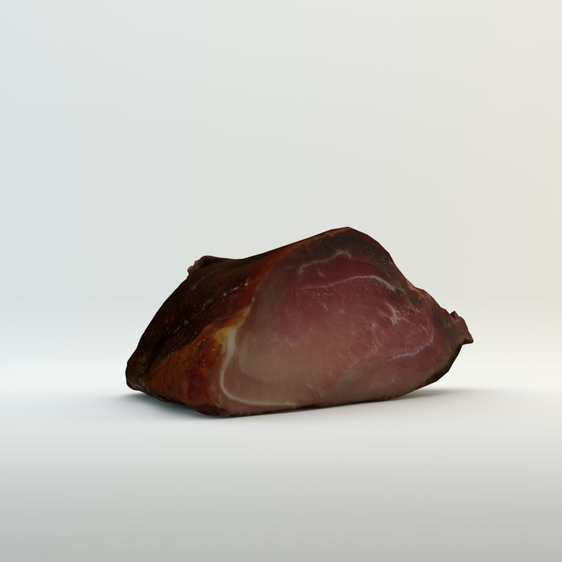 smoked meat 3d model
