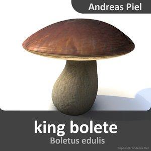 3d 3ds king bolete
