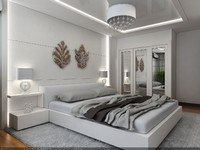 3dsmax interior modern style scene