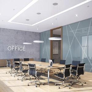 3d model conference room