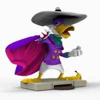 Darkwing duck 3d print