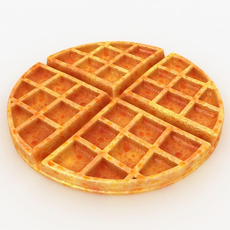 realistic waffle max