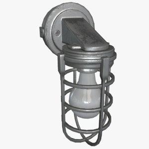 3d model light fixture 04