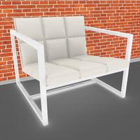3dsmax chair sofa