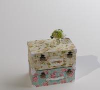 Suitcase flower