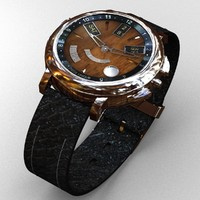 jean dunand watch 3d max