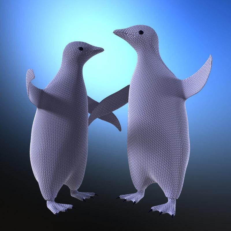 maya toy penguin