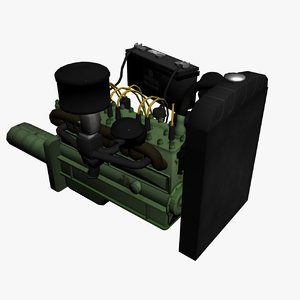 max low-poly 4 engine