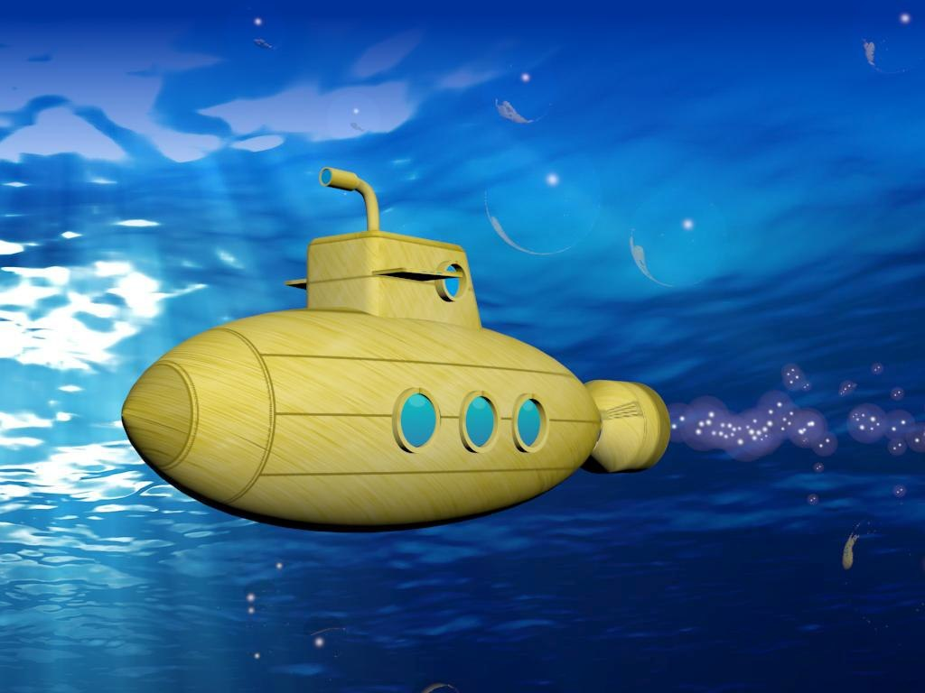 yellow submarine bubbles max