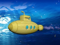 yellow submarine bubbles max