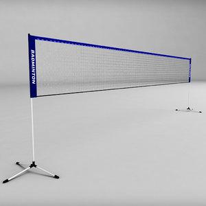 obj badminton net