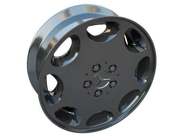 mercedes 8 hole 3d model