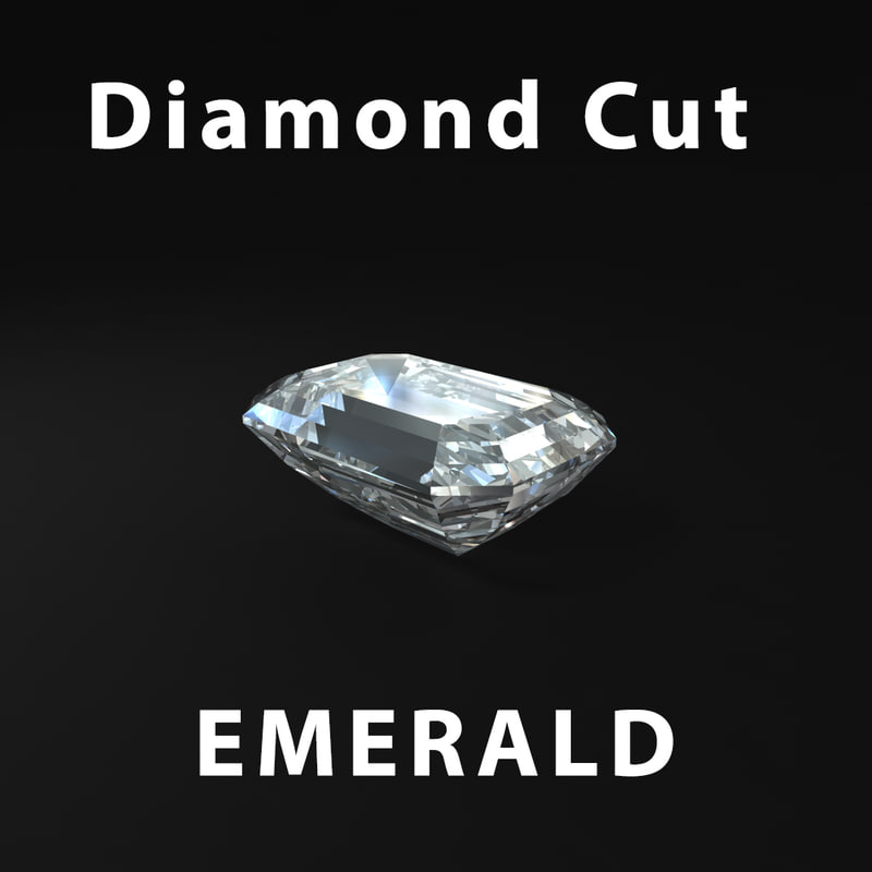 3ds max emerald diamond cut