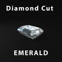 Emerald Diamond Cut
