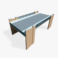 street bridge 3d model