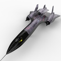 3d model of blackbird drone