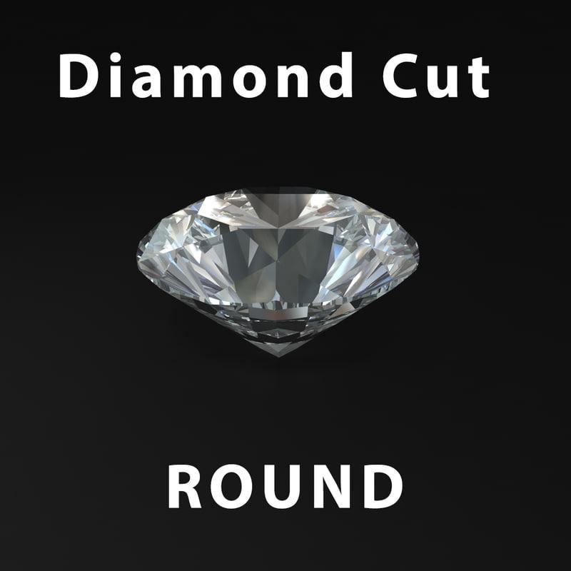 cut diamond 3d ma