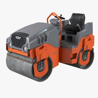 hamm roller hd12 3d max