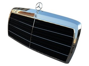 mercedes w124 w201 3d model