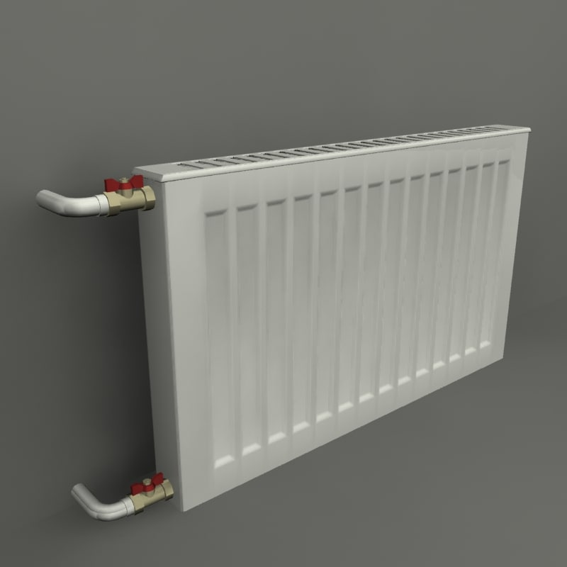 3d home radiator