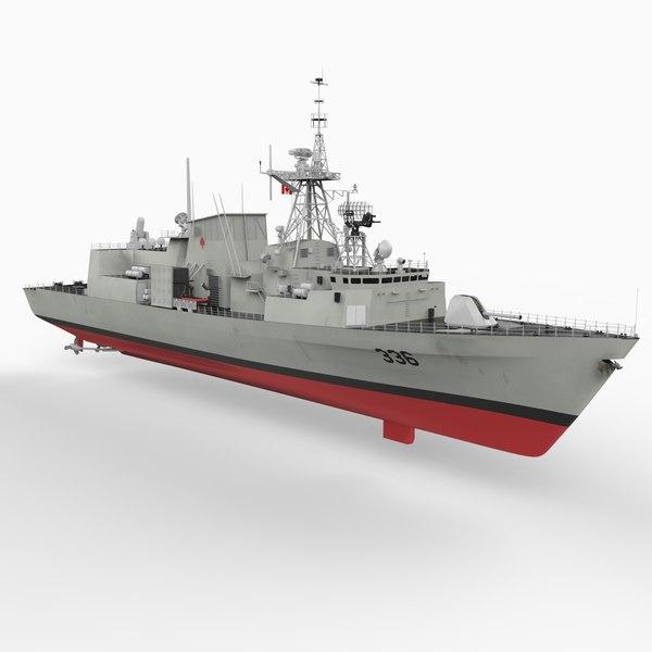 max halifax class frigate
