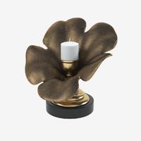 3d candle holder flower model