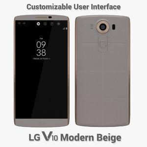 3d model lg v10