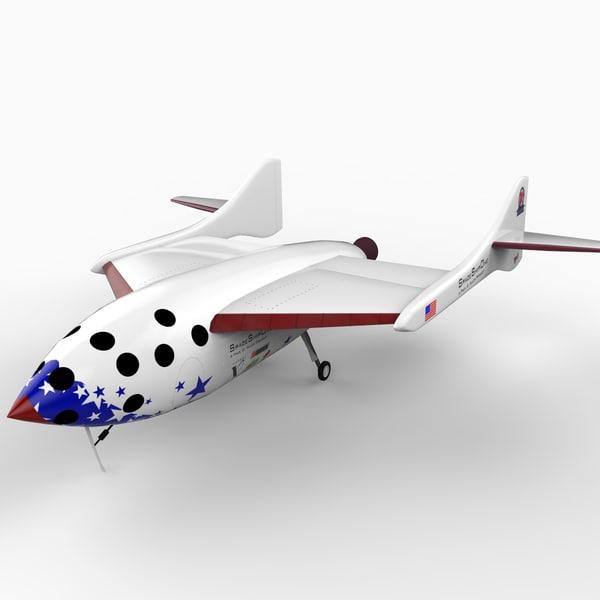 n328kf spaceshipone 3ds