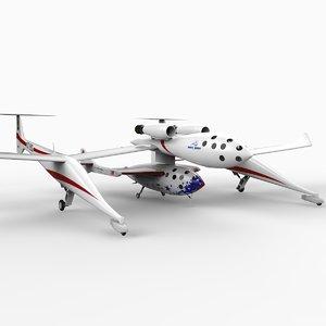 n328kf spaceshipone 3d 3ds