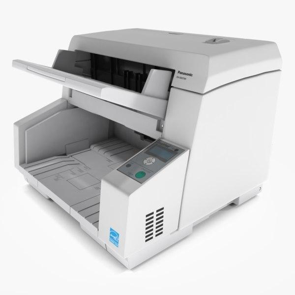 panasonic scanner computing kv-s5076 3d model